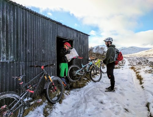 Winter MTB Adventure – Glen Kinglass